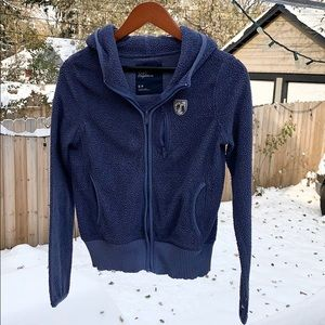 American Eagle outfitters blue hoodie size S/P
